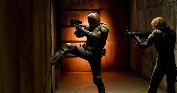 Judge Dredd Breaching Room  Karl Urban On Dredd Sequel: Its Up To The Fans