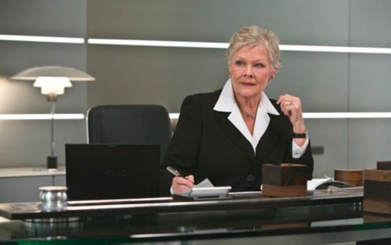 Judi Dench confirmed for James Bond 23 Judi Dench Confirmed For James Bond 23