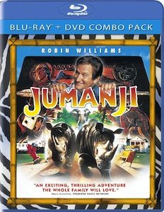 Jumanji Blu ray DVD/Blu ray Breakdown: June 28, 2011
