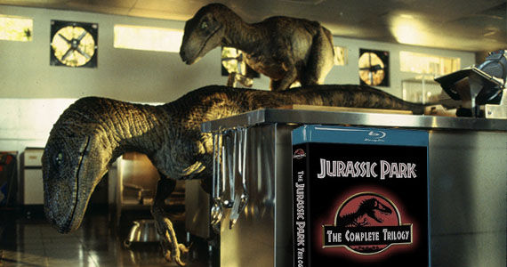 Jurassic Park Blu ray Jaws & Jurassic Park Trilogy Coming Soon to Blu ray [Updated]