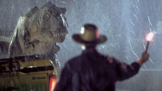 Jurassic Park T Rex Flare 570x320 Rumor Patrol: Idris Elba Has Joined the Cast for Jurassic World [Updated]