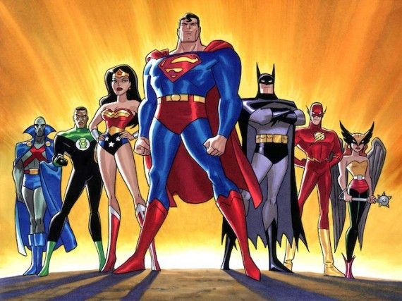 Justice League 570x427 SR Geek Picks: Toy Story as The Shining, Best and Worst Superheroes, Hipster DC Girls & More