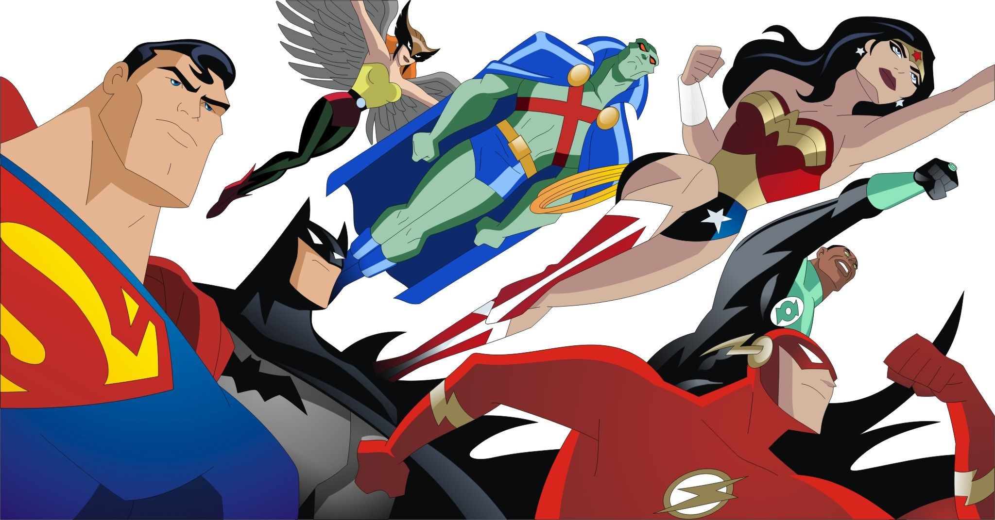 Cartoon Characters Justice League : New justice league animated series coming to cartoon network