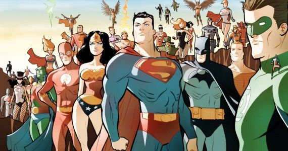 Justice League Art by Marcio Takara Rumored Justice League Character Roster Addresses Continuity Issues