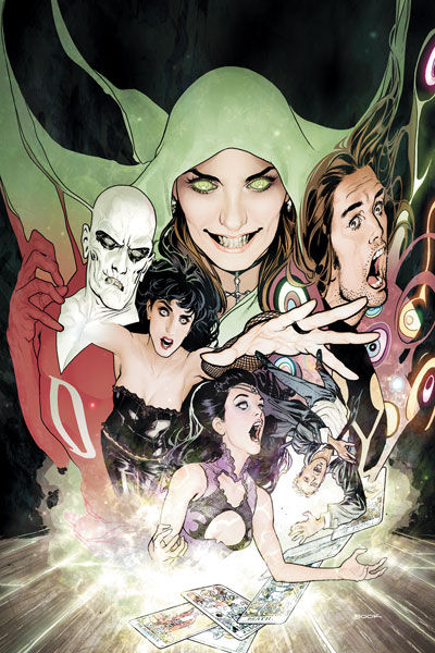 Justice League Dark 1 Cover Justice League Dark #1 Cover