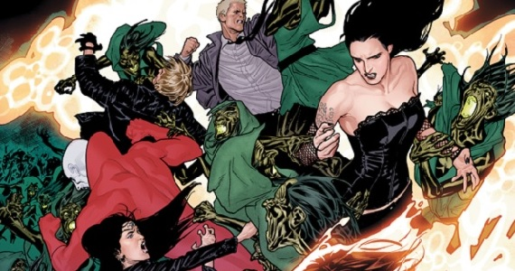 Justice League Dark battle Guillermo Del Toro on Justice League Dark & Bringing Comic Book Mythology to Life