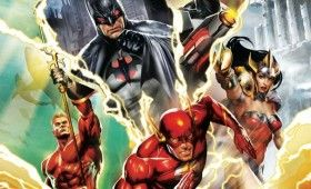 Justice League Flashpoint Paradox Trailer 280x170 Justice League: Flashpoint Paradox Trailer: The Flash is Stuck in a Bizarro DC Universe