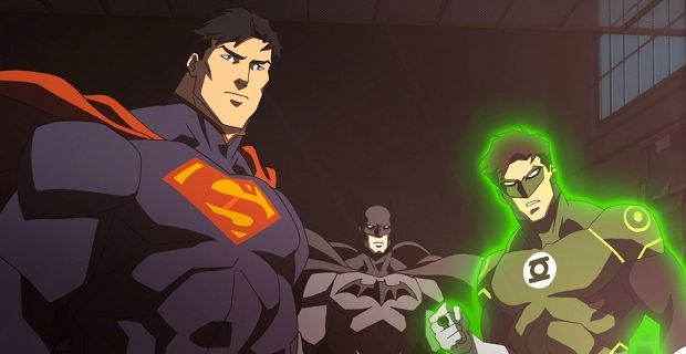 Justice League War Reviews 2014 David Goyer on Balancing Batman vs. Superman Script & Characters