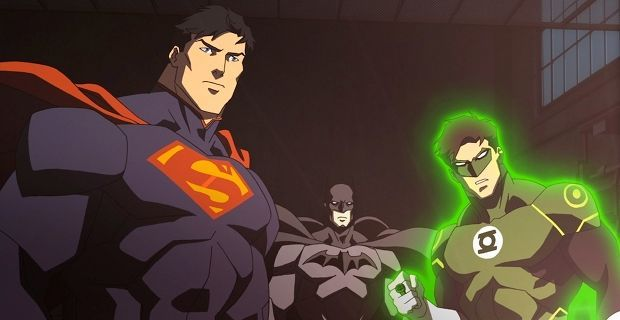 Justice League War Trailer 2013 Justice League: War Trailer: Epic Action, Questionable Characters