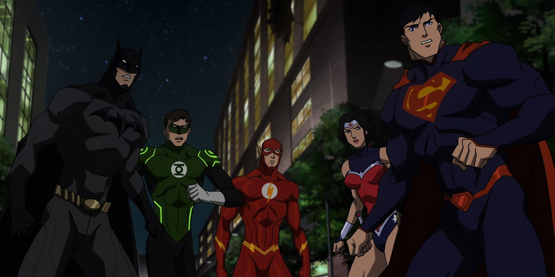 Image Gallery justice league animated movies