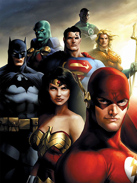 Justice League movie script