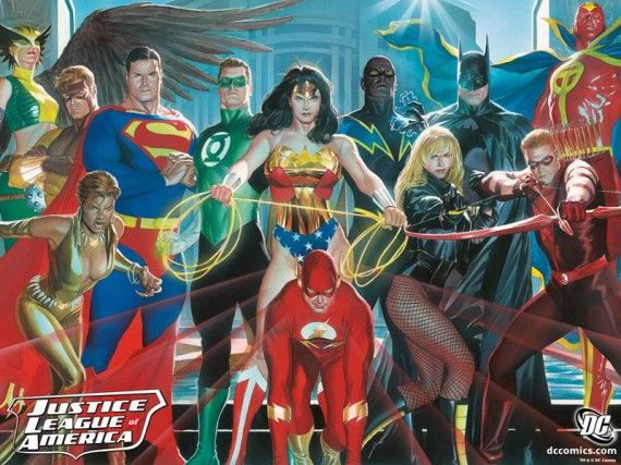 Justice League of America DC Comics 570x427 Justice League of America DC Comics