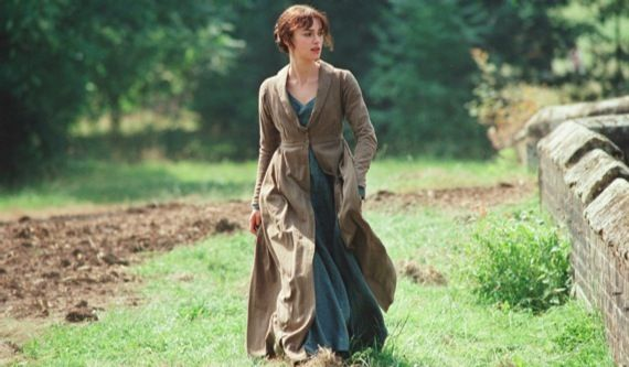 Keira Knightley in Pride and Prejudice Joe Wrights Anna Karenina Casting Update