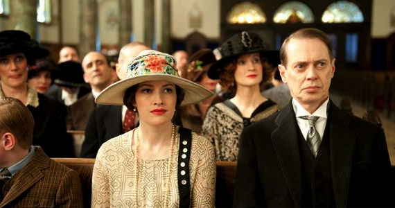 Kelly Macdonald and Steve Buscemi in Boardwalk Empire Bone for Tuna Boardwalk Empire Season 3, Episode 3: Bone For Tuna Recap