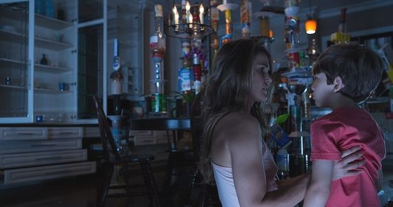 Keri Russell and Kadan Rockett in Dark Skies 2013 Dark Skies Review