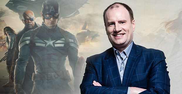 Kevin Feige On Set Captain America 2 Interview Captain America 2 Interview: Kevin Feige Talks Non Summer Marvel Release Dates