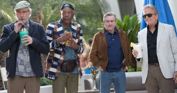 Kevin Kline Morgan Freeman Robert de Niro and Michael Douglas in Last Vegas Weekend Box Office Wrap Up: November 17, 2013