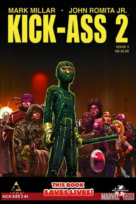 Kick Ass 2 issue 3 cover Kick Ass 2 issue 3 cover