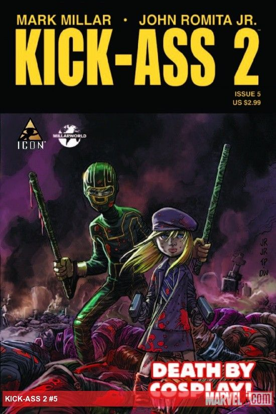 Kick Ass 2 issue 5 cover Kick Ass 2 issue 5 cover