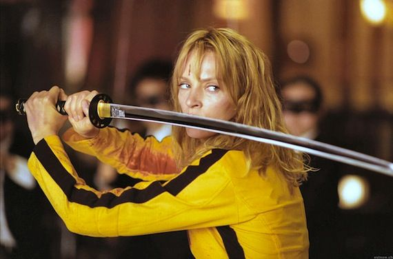Kill Bill Uma Thurman The Bride 5 Movies I Could Watch Every Day