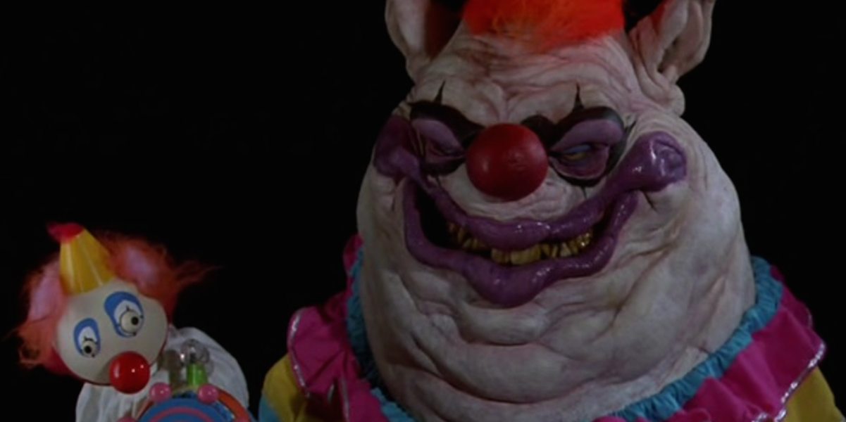 10 most terrifying clowns in horror movies for Space clowns