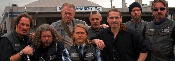 Kim Coates Mark Boone Junior William Lucking Charlie Hunnam Theo Rossi Kurt Sutter Ryan Hurst Tommy Flanagan Sons of Anarchy FX Sons Of Anarchy Will Ride For Season 5