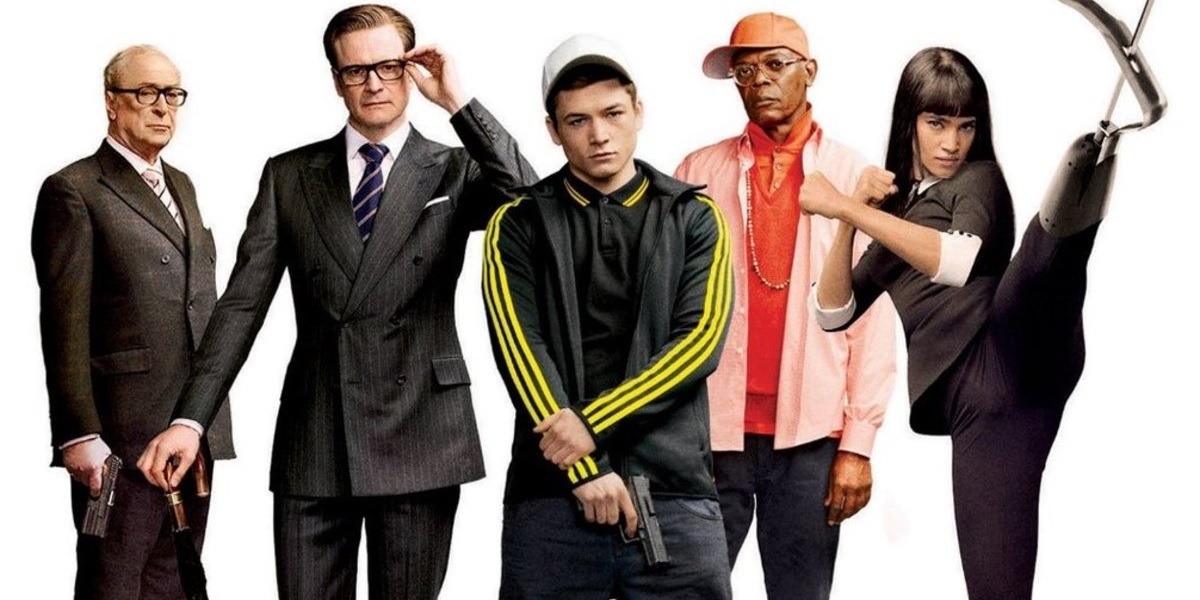 Kingsman the secret service dvd cover jpg
