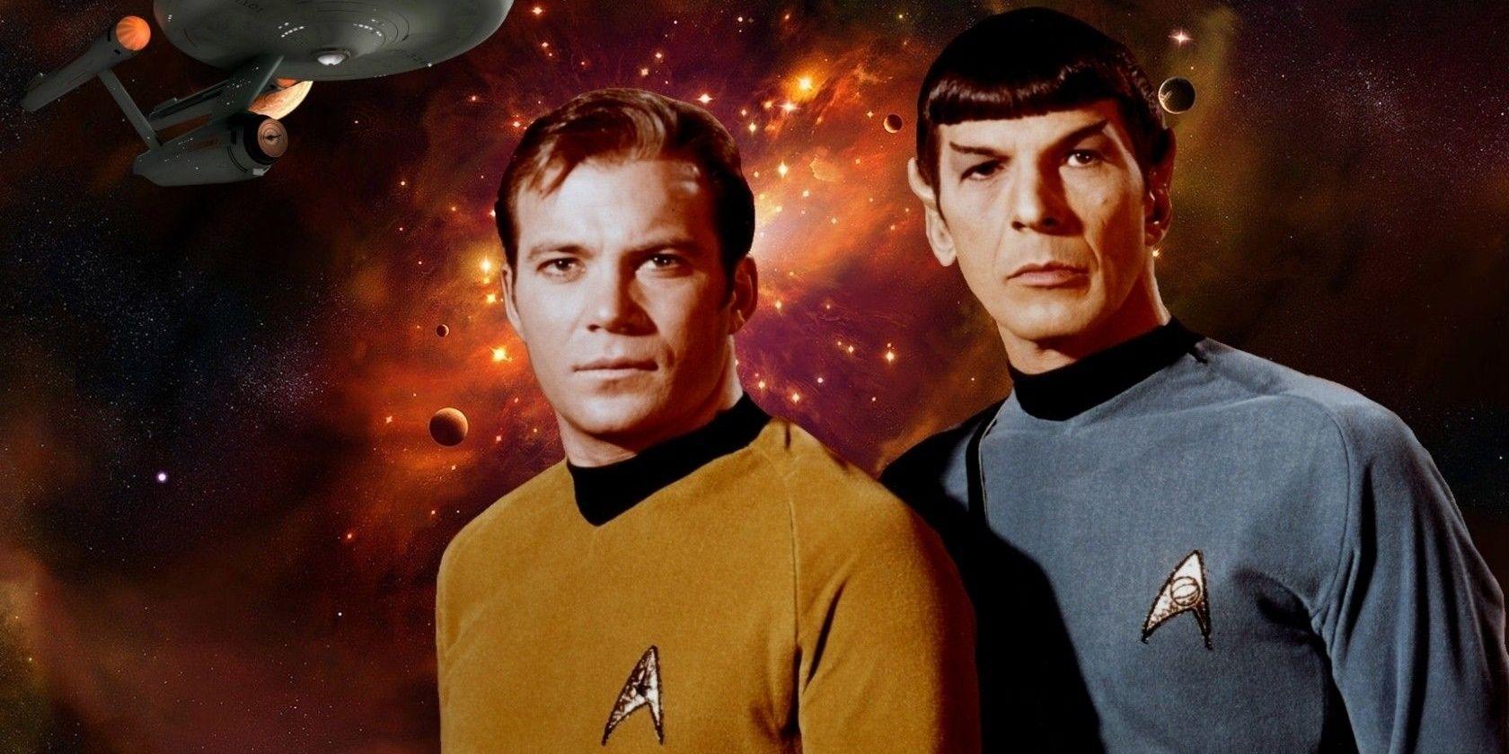 Kirk and Spock Star Trek