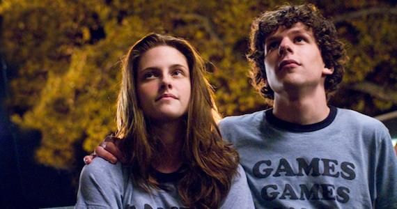 Kristen Stewart Jesse Eisenberg American Ultra Movie News Wrap Up: Sin City 2 Title Change, Horrible Bosses 2, CELL & More