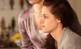 Kristen Stewart in Breaking Dawn 280x170 Breaking Dawn Photo Gallery Features Lots of Cuddling & Vampires