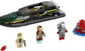 LEGO Iron Man 3 Speedboat Set 280x170 New Iron Man 3 LEGO Sets Reveal Possible Spoilers