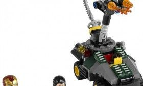 LEGO Iron Man vs Mandarin Set 280x170 New Iron Man 3 LEGO Sets Reveal Possible Spoilers