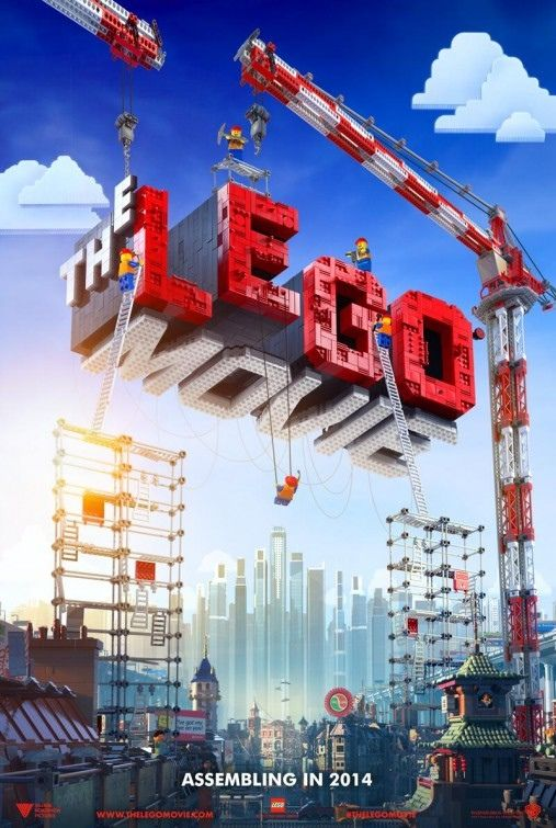 LEGO Movie Poster LEGO Movie Poster