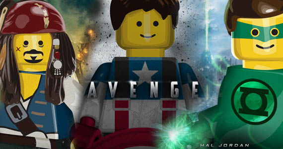 LEGO Movie Posters LEGO Movie Posters For Summer 2011s Biggest Movies