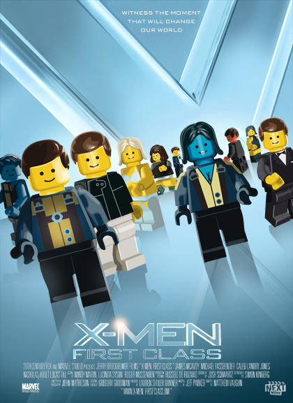 LEGO X Men First Class LEGO X Men First Class