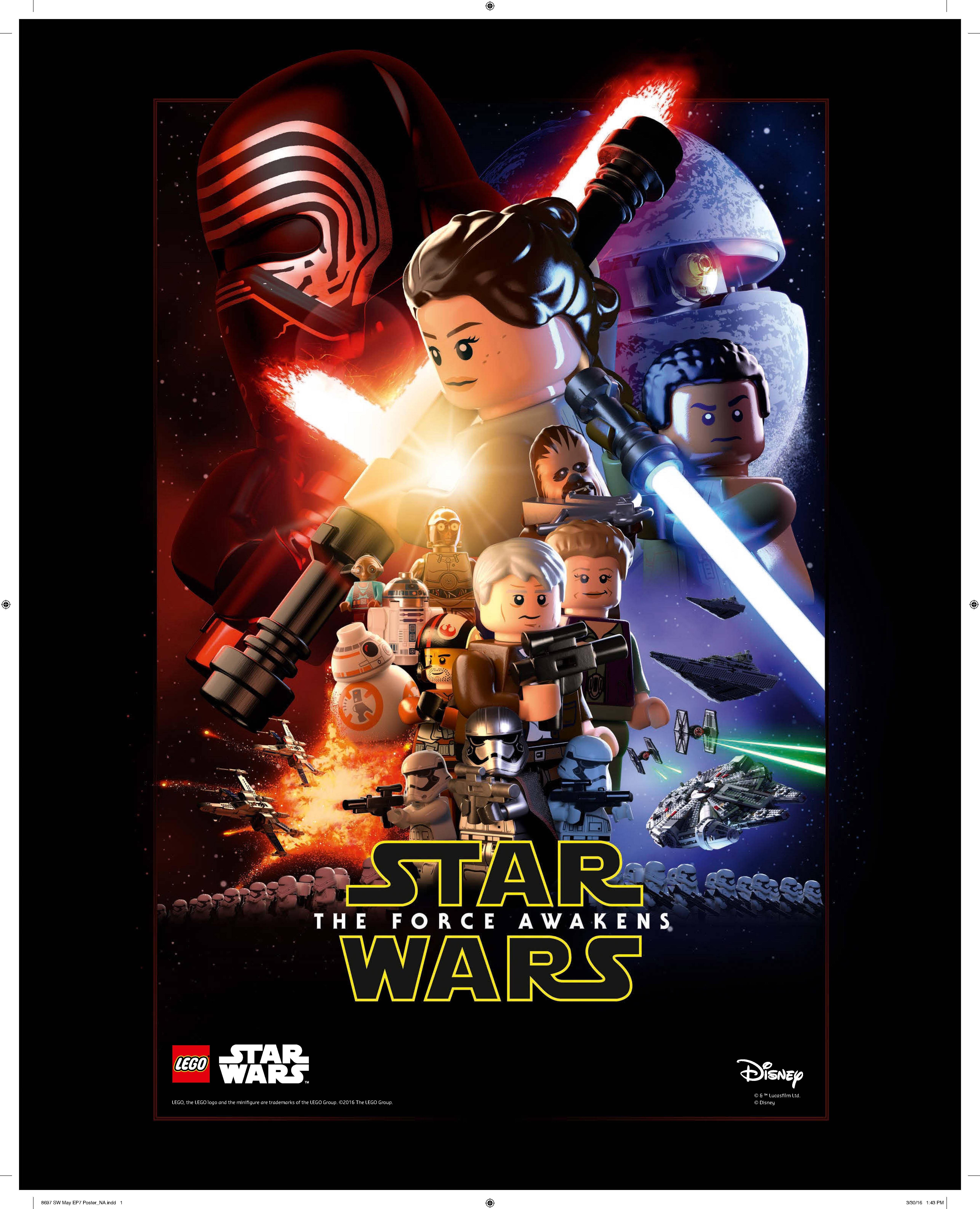 LEGO Star Wars: May 4th Force Awakens Promo & Freemaker