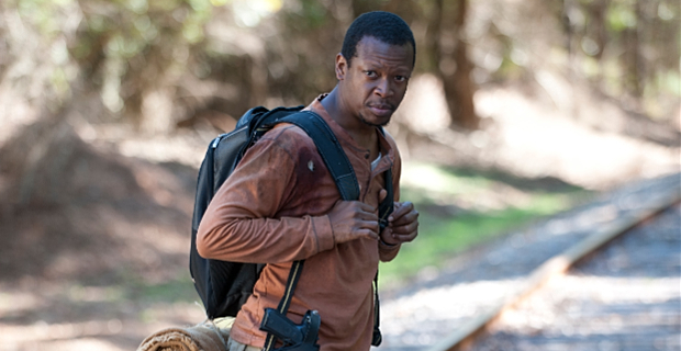 Larry Gilliard Jr in The Walking Dead Season 4 Episode 13 The Walking Dead Finds Strength In Numbers