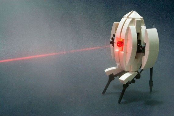 Laser Lego Turret 570x380 SR Geek Picks: Fan Made Star Wars: Episode VII Poster, Walking Dead Kart, Downton Arbys, & More!