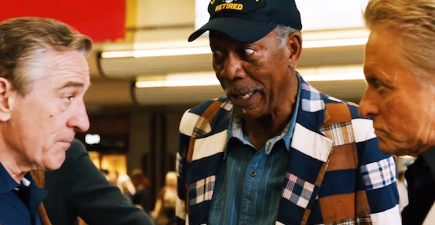 Last Vegas Robert De Niro Morgan Freeman Michael Douglas Last Vegas Review