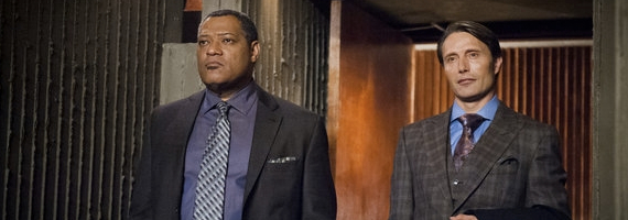 Laurence Fishburne and Mads Mikkelsen in Potage Hannibal Season 1, Episode 3 Review – A Lack of Sympathy