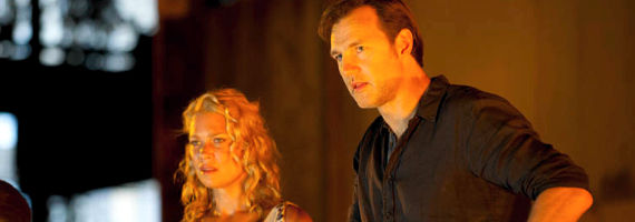 Laurie Holden David Morrissey in The Walking Dead Say the Word The Walking Dead Season 3, Episode 5 Review – Fun & Games