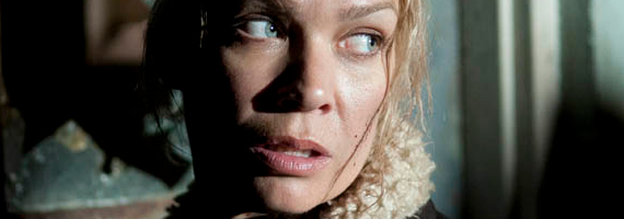 Laurie Holden as Andrea in The Walking Dead Prey The Walking Dead Season 3, Episode 14 Review – On The Run