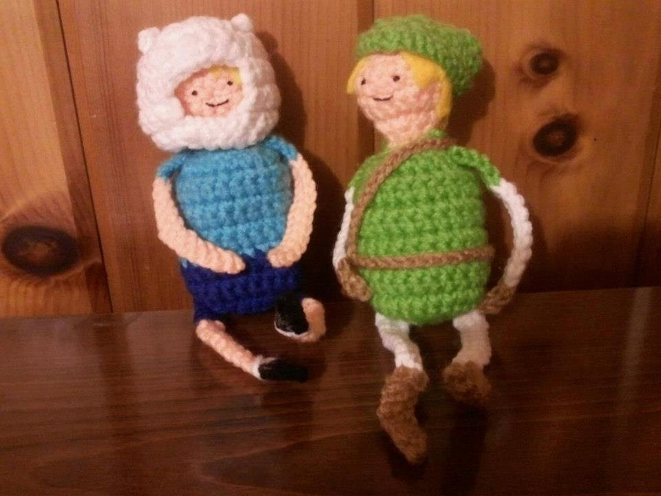 Legend of Zelda and Adventure Time Crochet Dolls SR Geek Picks: Nolan Animated Tribute, Die Hard Claymation, Best Picture Oscars & More
