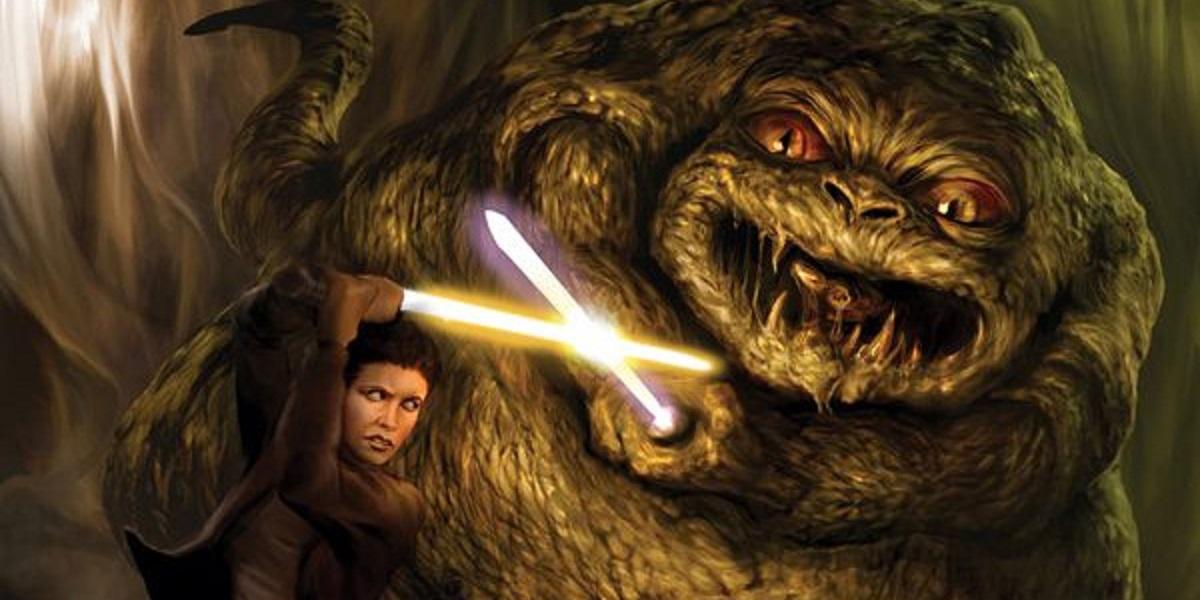10 Weirdest Star Wars Stories Jabba The Hutt And Leia Fanfiction