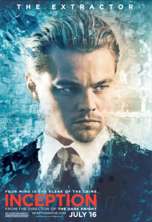 Leonardo DiCaprio Inception The Extractor Poster Leonardo DiCaprio Inception The Extractor Poster