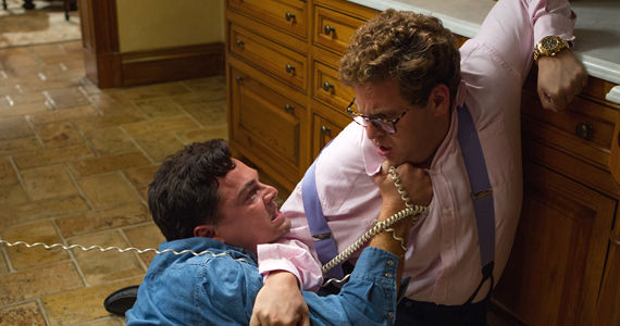 Leonardo DiCaprio and Jonah Hill in The Wolf of Wall Street 2013 Martin Scorsese Addresses Wolf of Wall Street Controversy [Video]