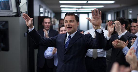 Leonardo DiCaprio as Jordan Belfort in 'The Wolf of Wall Street' (2013)
