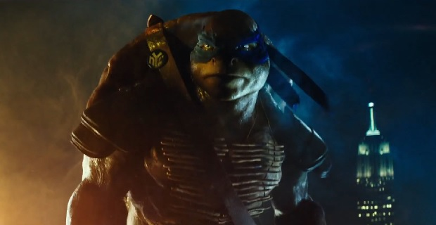 Leonardo in TMNT teaser trailer TMNT: Johnny Knoxville to Voice Leonardo, Tony Shalhoub to Voice Splinter