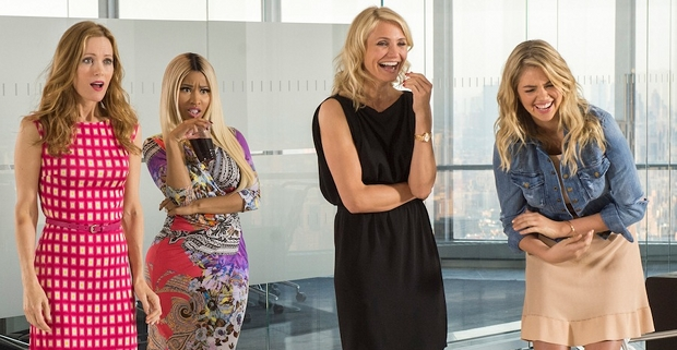 Leslie Mann Nicki Minaj Cameron Diaz and Kate Upton in The Ohter Woman 2014 The Other Woman Review