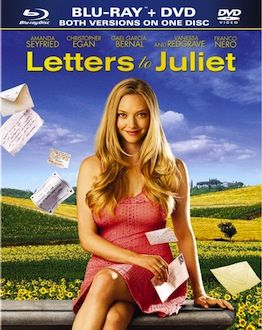 Letters to Juliet DVD Blu ray box art DVD/Blu ray Breakdown: September 14th, 2010